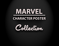 Marvel Character Poster Collection