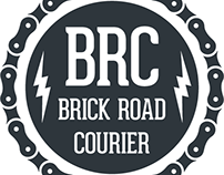 Brick Road Courier Logo