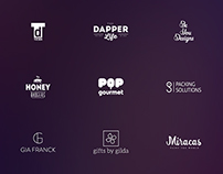 L O G O F O L I O - some of my logo designs