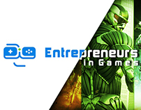 Entrepreneurs in games(99designs contest winner)