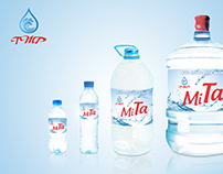 Brand identity design for Pure Water