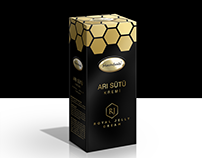 Royal Jelly Cream Package Design