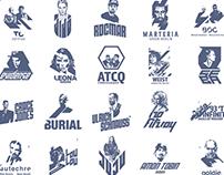 Selected Logo Works//Music Series