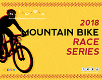 NIMBA 2018 race series poster/postcard