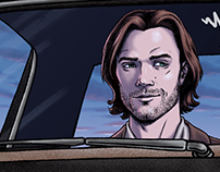 Supernatural (TV Show) | Giclee Print
