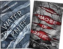 Bacigalupi book covers