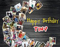 TATHVIK - 3rd Birthday poster