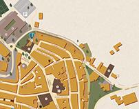 Città della Pieve MAP