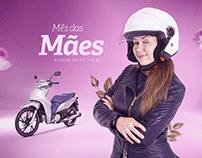 Campanha Mês das Mães - Honda Moto Ideal