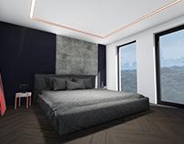 Bedroom/Bathroom Design