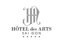 Hotel des Arts - first draft logos