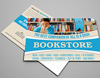 Bookstore Postcard Template