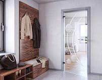 Three interior 3D visualizations II