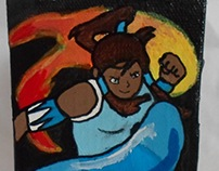 Avatar: The Legend of Korra Mini Canvas