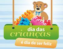 Promoção Dia das Crianças Lojão do Rosa