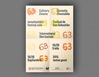 San Sebastian Film Festival / Donostia Zinemaldia 2015