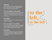 Type Glossary (Editorial Design)
