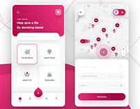 New concept design for blood app