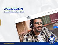 Web Design - Digital Science Sdn. Bhd.