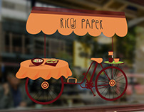 Window Illustration for a Vietnamese Eatery