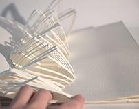 Experimentaciones con papel.