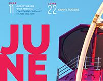 Del Mar Fairgrounds JUNE 2016 Calendar