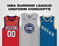NBA Summer League Uniform Concepts