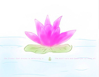 Lotus: Digital Watercoloring