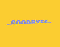 Motion Graphic_50 ways to say goodbyes