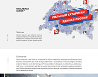 Identity for the party United Russia