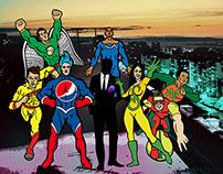 Pepsi Superheroes