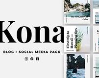 KONA Blog & Social Media Pack