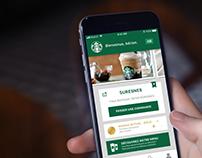 UI Concept : Starbucks redesign.