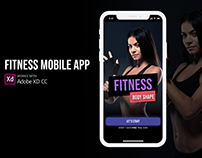 Fitness Mobile App UI Kit