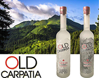 Vodka Old Carpatia by DanCo Decor