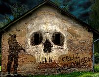 grafiti halloween