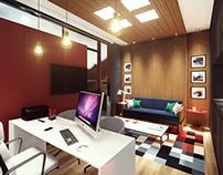 Bedroom-Office / Dormitório-Escritório