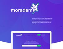 Moradam SEO Agency Re Design PSD