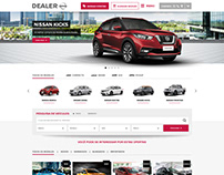 UI Design for a new automotive dealer theme