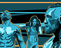 UFC Digital Illustration