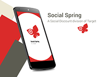 Social Spring Android Material Design
