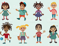 iStock Kids Character Illustration