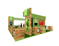 Fresh Fruit Exhibition stand ( Dwtc Gulfood dubai )