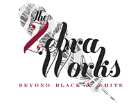 The Zebra Works Logo Design