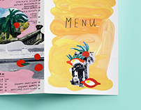 Design menu for restaurant