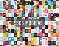 365 músicas no ano