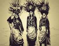 Tres Cholas Muertas