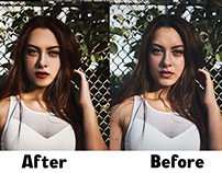 High End Beauty Retouching for Images
