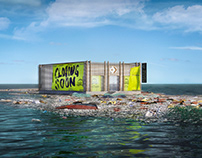 Converse Renew Labs: Virtual store on a garbage patch