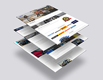 Tyre Shop web design
